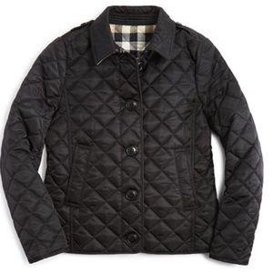 Girls Burberry barn jacket